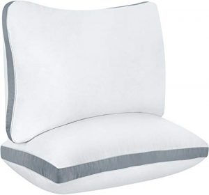 Utopia Cotton Gusseted Pillow Queen (2-Pack)