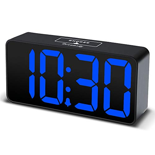 DreamSky Compact Digital Alarm Clock