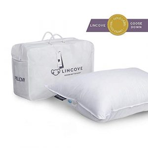 Lincove ALL Goose Down Pillow King MED.