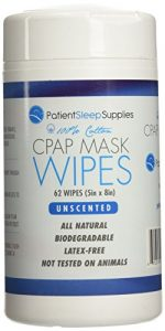 Patient Sleep Supplies CPAP Mask Wipes