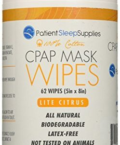 CPAP Mask Wipes (Lite Citrus)