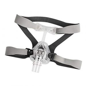 Nasal Mask With Adjustable Straps Headgear L