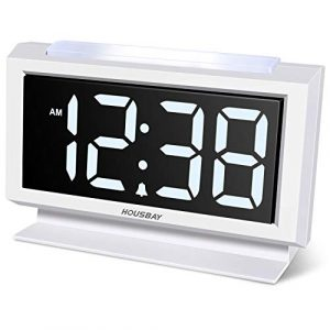 Alarm Clock Handy Night Light Large Numbers