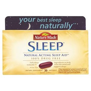 Nature Made Sleep Aid - 2 Boxes 60 Softgels