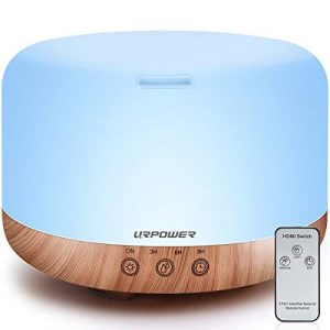 1000ml Essential Oil Diffuser Remote Control