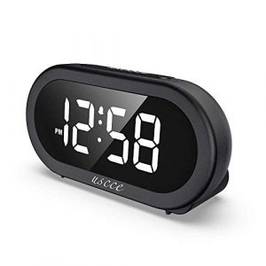 Small LED Digital Alarm Clock With Snooze