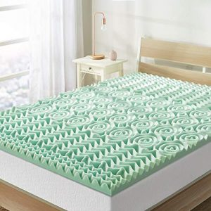 1.5 In. Full Mattress Topper Aloe Infused