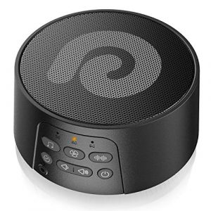 DreamEgg White Noise Machine 29 Sounds Black
