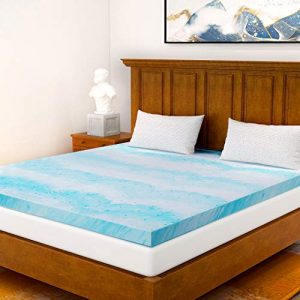 2 In Gel Memory Foam Mattress Topper Queen