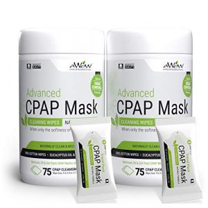 CPAP Mask Cleaning Wipes Advanced Odor