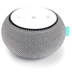 SNOOZ White Noise Sound Machine Real Fan