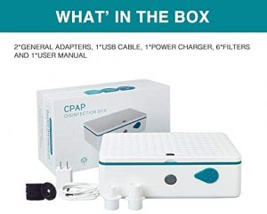 CPAP Cleaner and Sanitizer 3 in 1 cleaning